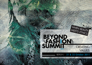 beyond fashion summit 2011 visual